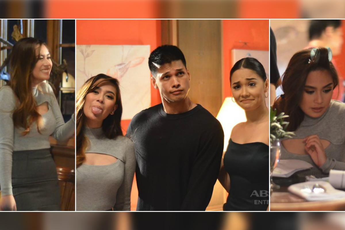 Mga kaganapan sa likod ng kamera sa unang araw ni Yen Santos bilang si