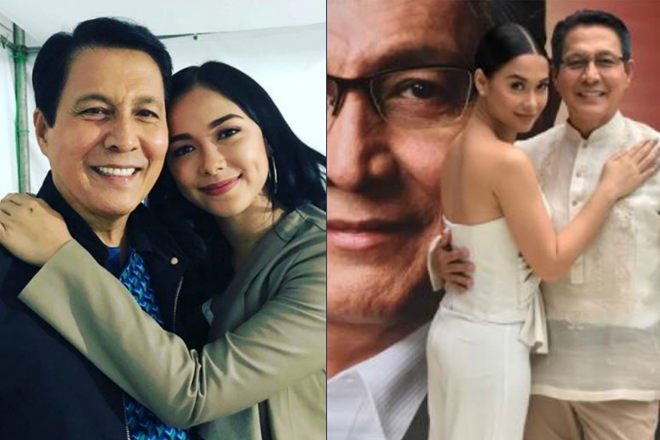 IN PHOTOS: Tirso Cruz shows why he's everyone's tatay on the set of Wildflower