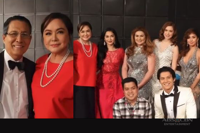 WATCH: Charo Santos visits Wildflower cast pictorial