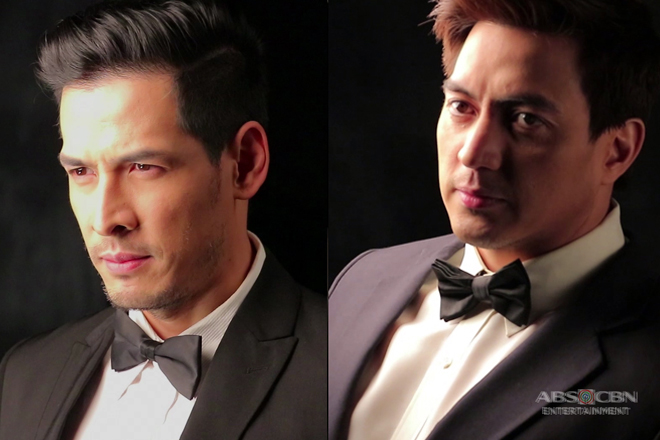 FACE OFF: Wendell Ramos and Christian Vasquez as Jaguar in Wildflower's book 4 pictorial