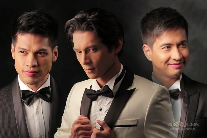 Behind-The-Scenes: Joseph, RK and Vin in Wildflower Book 4 Pictorial Shoot