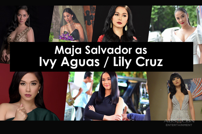 The wildest looks of Maja Salvador as Ivy Aguas/ Lily Cruz
