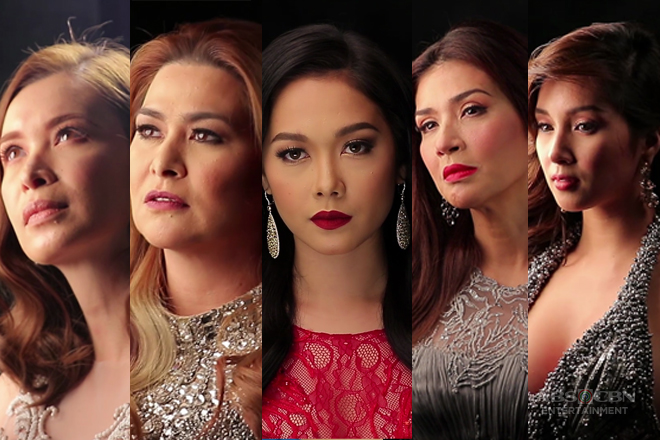 The women of Wildflower in Book 4 Pictorial Shoot