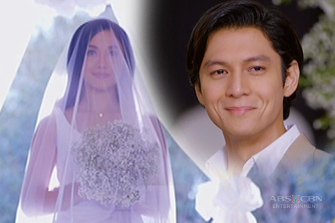 Lily walks down the aisle; Diego turns emotional