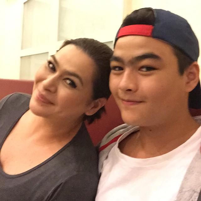"""PHOTOS: Aiko Melendez kasama ang nag-iisang """"Best Man"""" ng buhay niya"""