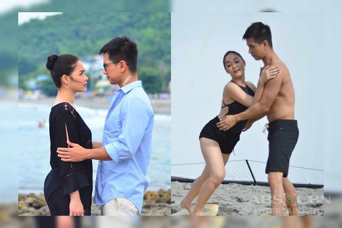 BEHIND-THE-SCENES: Ivy and Arnaldo's summer vacation in La Union