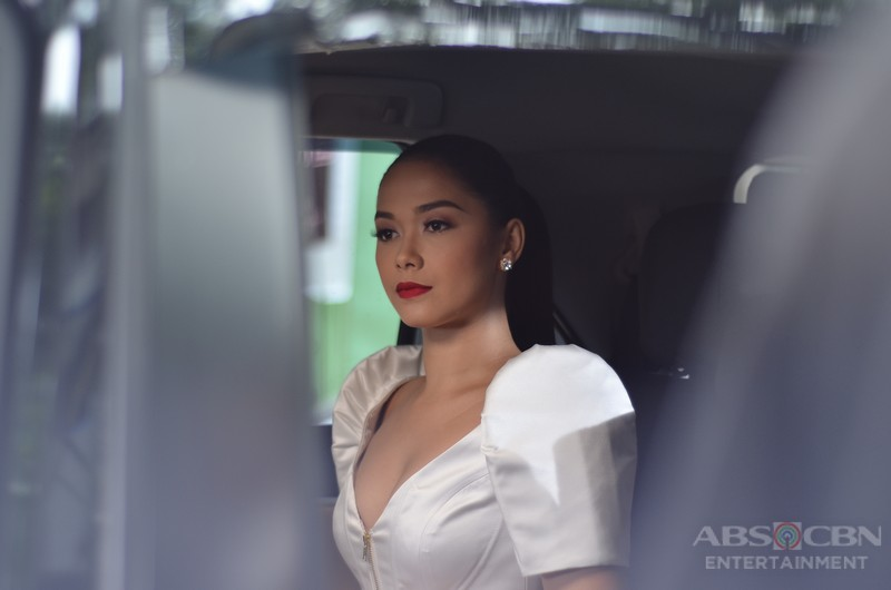 Maja Salvador Rocks A Filipiniana Dress as Ivy Aguas in Wildflower's Public Engagement with Mr. Mayor