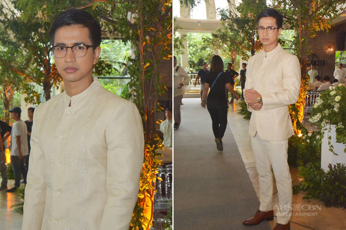 IN PHOTOS: Arnaldo is the most badass groom in #WildflowerWildestWedding