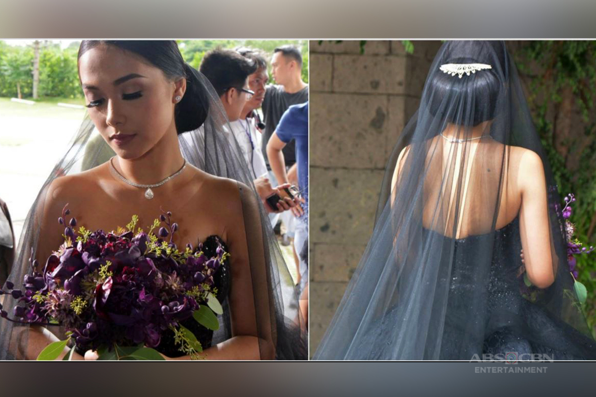 IN PHOTOS: See Ivy's trending black wedding gown up close!