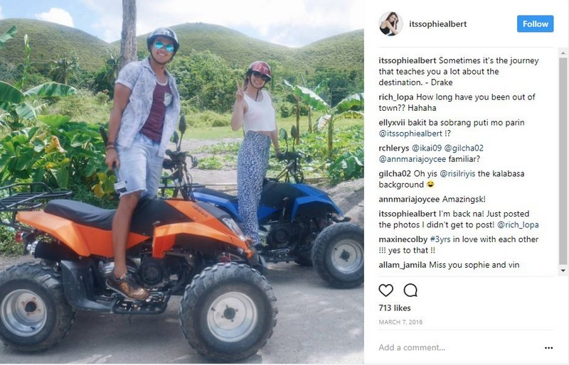 IN PHOTOS: Vin Abrenica with his beautiful travel buddy Sophie Albert