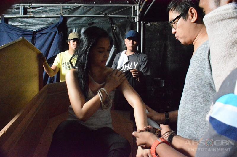 Behind-The-Scenes: Ang araw ng paglilibing kay Ivy Aguas #WildflowerLibing
