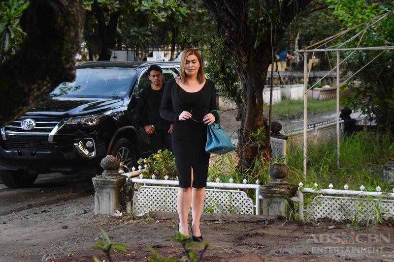 Behind-The-Scenes: Ang pagdalaw ni Emilia sa puntod ni Ivy #WildflowerSaklolo