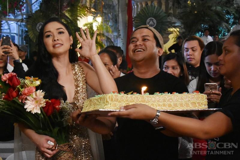 On-The-Set Of Wildflower: Maja and Joseph's double birthday celebration