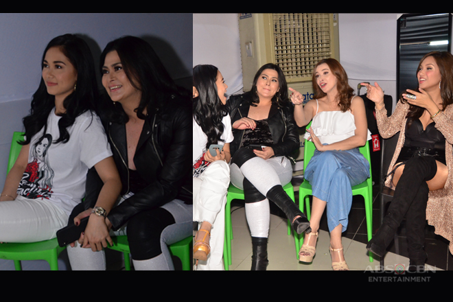 BACKSTAGE PHOTOS: Stolen moments during Wildflower's finale viewing party