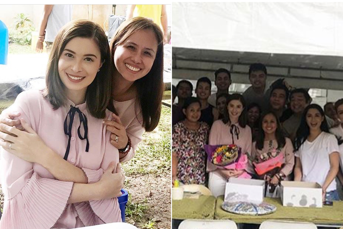 Sunshine Cruz celebrates birthday with her Wildflower family